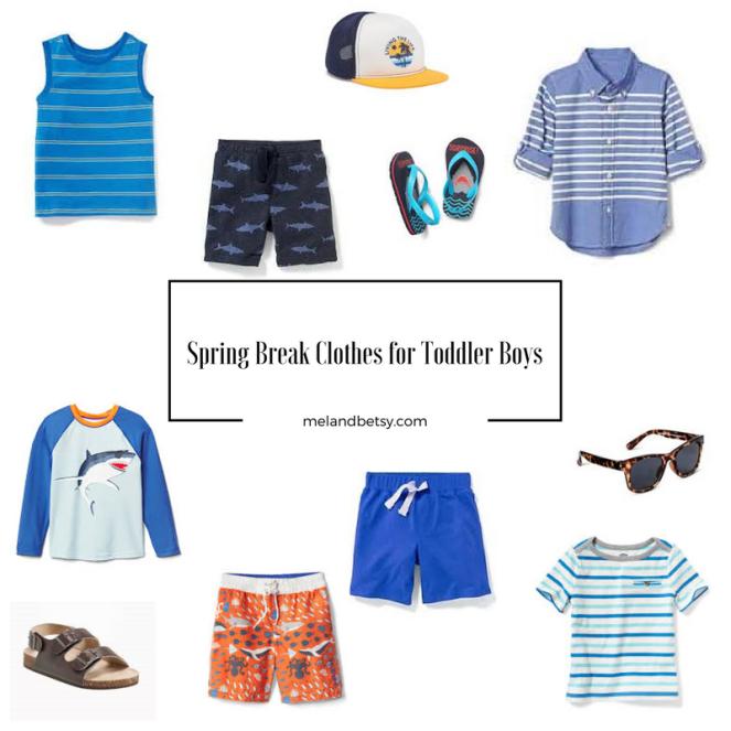 Spring Break Clothes for Toddler Boys