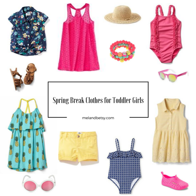 Spring Break Clothes for Toddlers